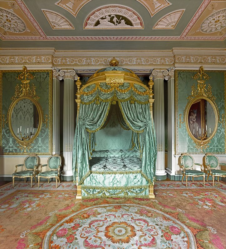 Robert Adam: Harewood House State Bed