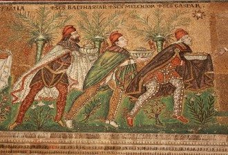 Three Kings Mosaic