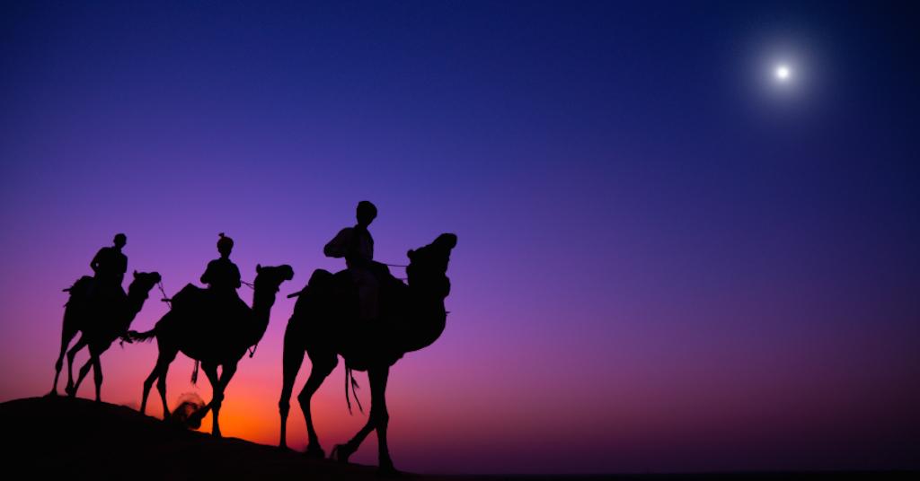Epiphany gold frankincense myrrh three wise men or