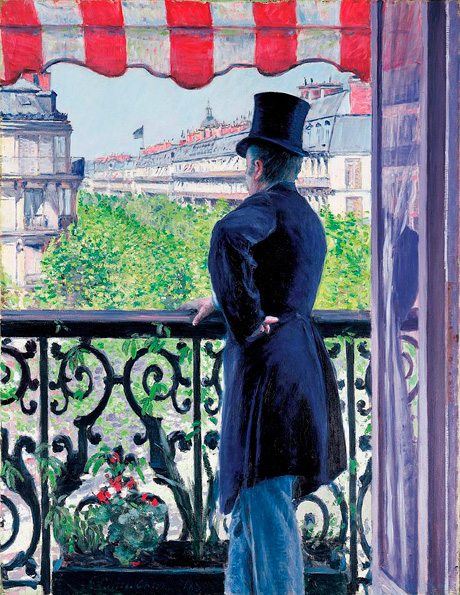 Overlooking the Boulevard Haussman at Paris by Gustave Caillebotte 1880, Overlooking the Boulevard Haussman, sold Christie's for US$14.3 Million in 2000