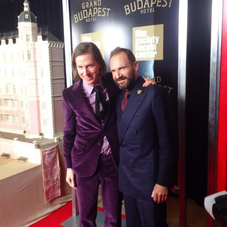 The Grand Budapest Hotel – Loving Gustave H & His Lobby Boy!