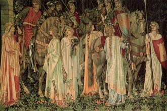 Morris Holy Grail tapestry
