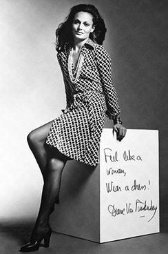 Diane Von Furstenberg & The Universally Flattering Frock