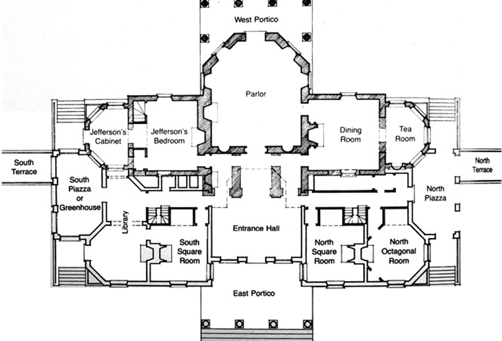 Floor Plan Monticello