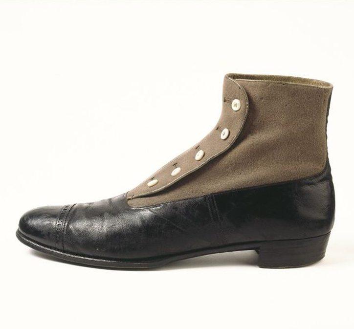 Buttoned Shoe c1890