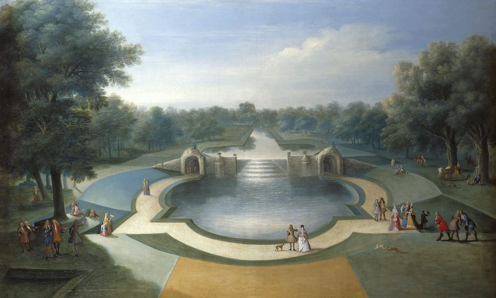 Marco Ricci, A View of the Cascade, Bushy Park Water Gardens, c.1715, courtesy Royal Collection Trust, ©Her Majesty Queen Elizabeth II 2014