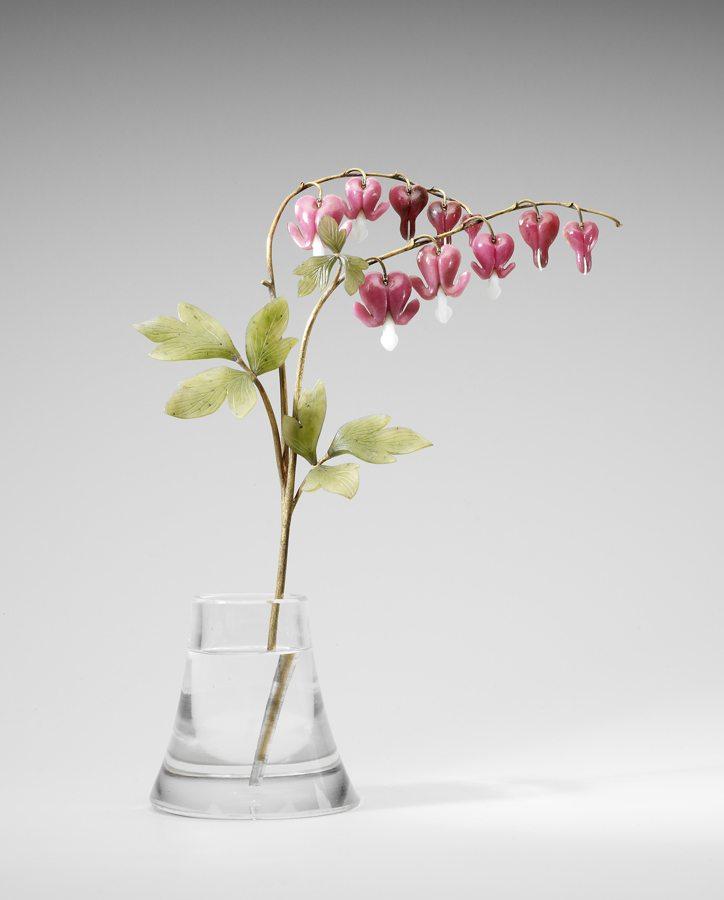 Workshop of Carl Faberge, Bleeding Heart, c.1900, courtesy Royal Collection Trust ©Her Majesty Queen Elizabeth II 2014