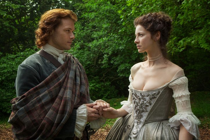 Jamie and Claire Fraser Outlander