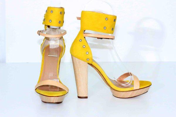 Hoss Intropia-yellow-heels