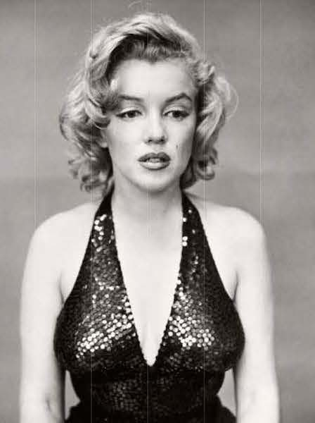 Marilyn Monroe photographed by Richard Avedon