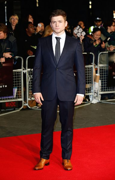 """Joel Egerton attends the World Premiere Centrepiece Gala, supported by the Mayor of London, red carpet arrivals for """"Testament Of Youth"""" during the 58th BFI London Film Festival at The Mayfair Hotel on October 14, 2014 in London"""
