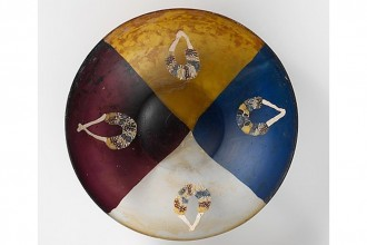 Roman Glass Multi coloured