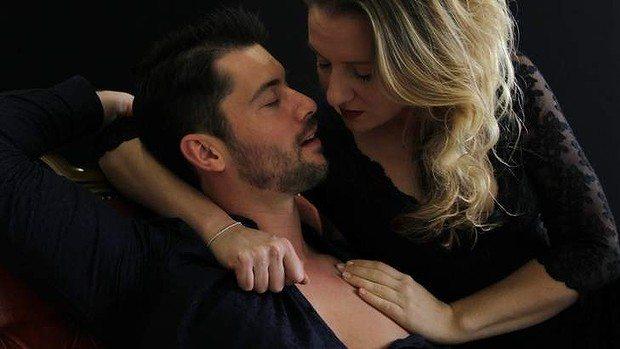 Celeste Lazarenko with David Hansen in Pinchgut Opera Giasone 2013, photo Tamara Dean