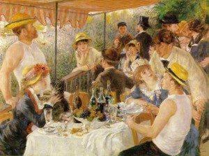 Renoir Boating Party
