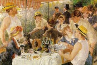 Renoir Boating Party