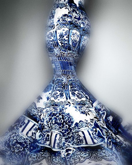Cavalli Blue and White