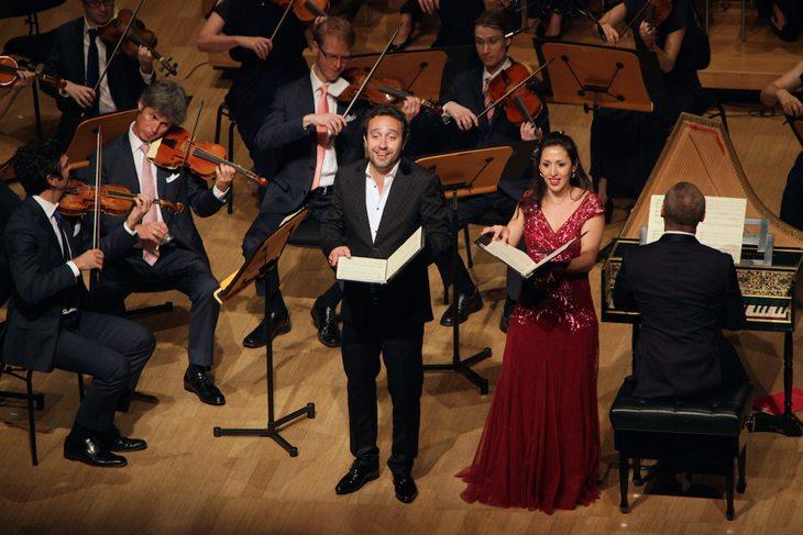 2015 Australian Brandenburg Orchestra, Brandenburg Choir, Paul Dyer, with guest soloists soprano Mariana Flores and tenor Fernando Guimaraes photo Steven Godbee