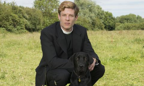 Priest and Dog