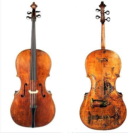 Musical Instruments at The Met – Amati King Cello on Show