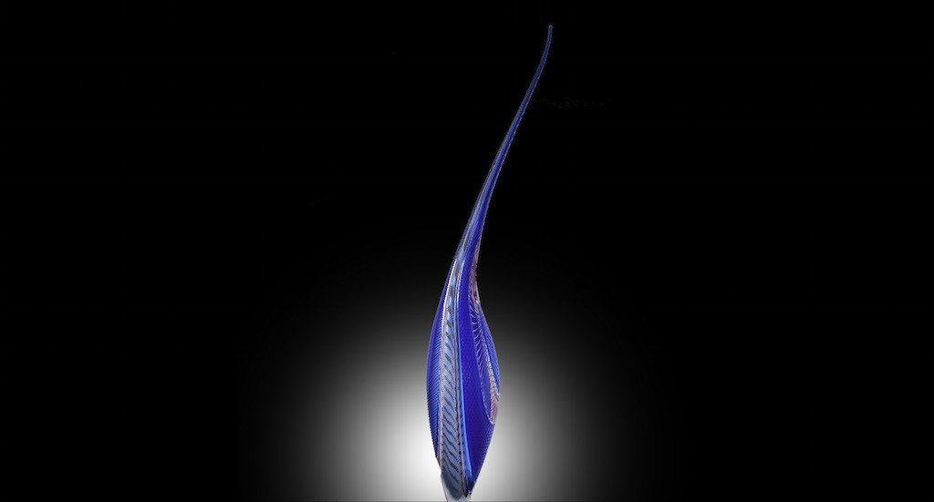 Blue Dinosaur Tagliapietra