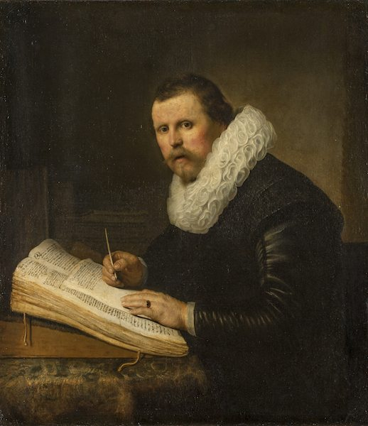 Scholar by Rembrandt