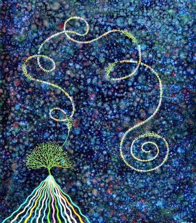 CODE by Kathryn Brimblecombe Fox –  Stardust is Landscape