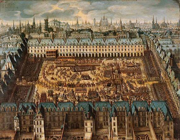 Henry Iv Of France Legacy Place Des Vosges Marais In