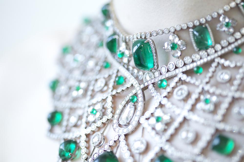 Emerald Necklace 1000
