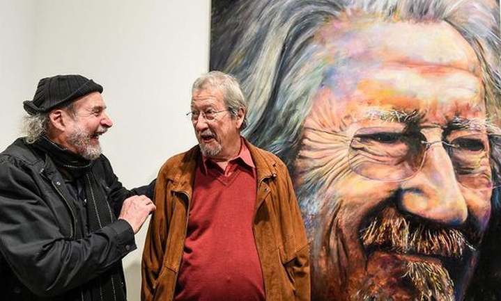 Jenkins And Wynne >> Archibald Portrait of Michael Caton - AGNSW People's Choice | The Culture Concept Circle