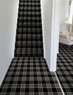 Brintons Black & White carpet