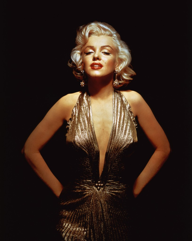 Marilyn Monroe Golden Girl