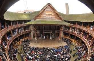 Shakespeare's Globe Theatre replica, London