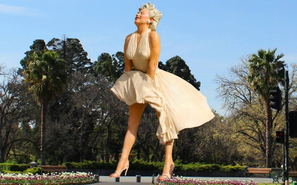 Marilyn at Bendigo