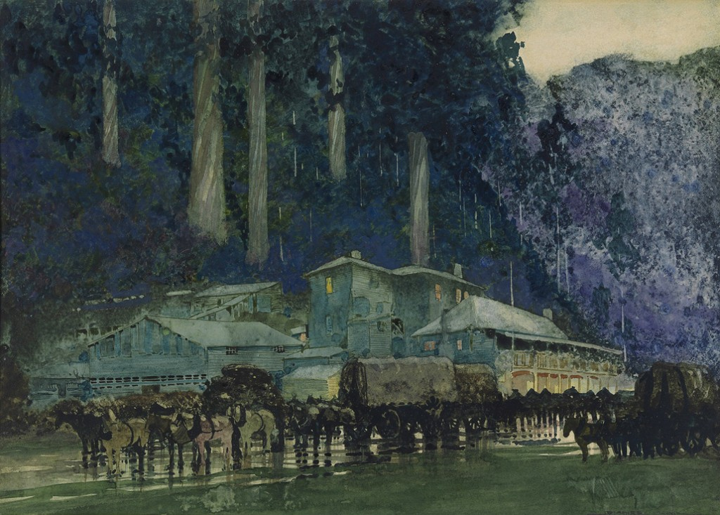William Blamire Young. When the horse team came to Walhalla. 1910