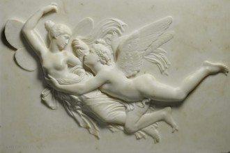 Cupid pursuing Psyche