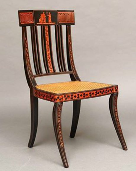 Etruscan Painted Chair