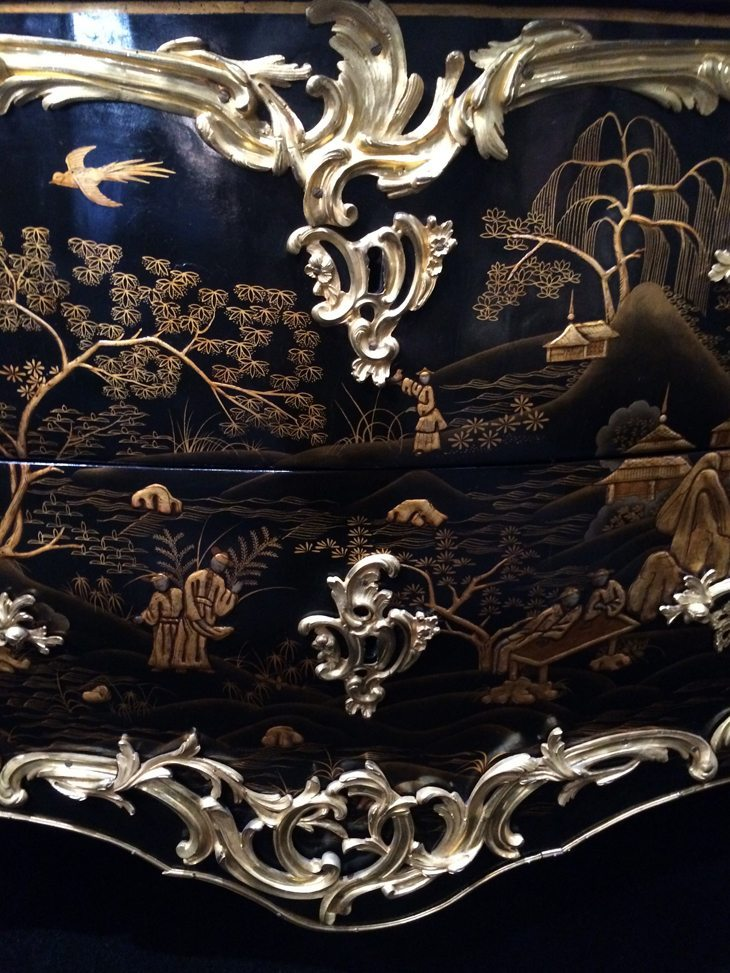Rococo Commode Detail