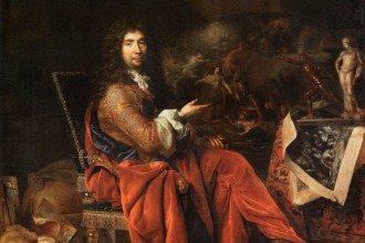 Nicolas de Largilliere, portrait of Charles Le Brun created 1683-6,