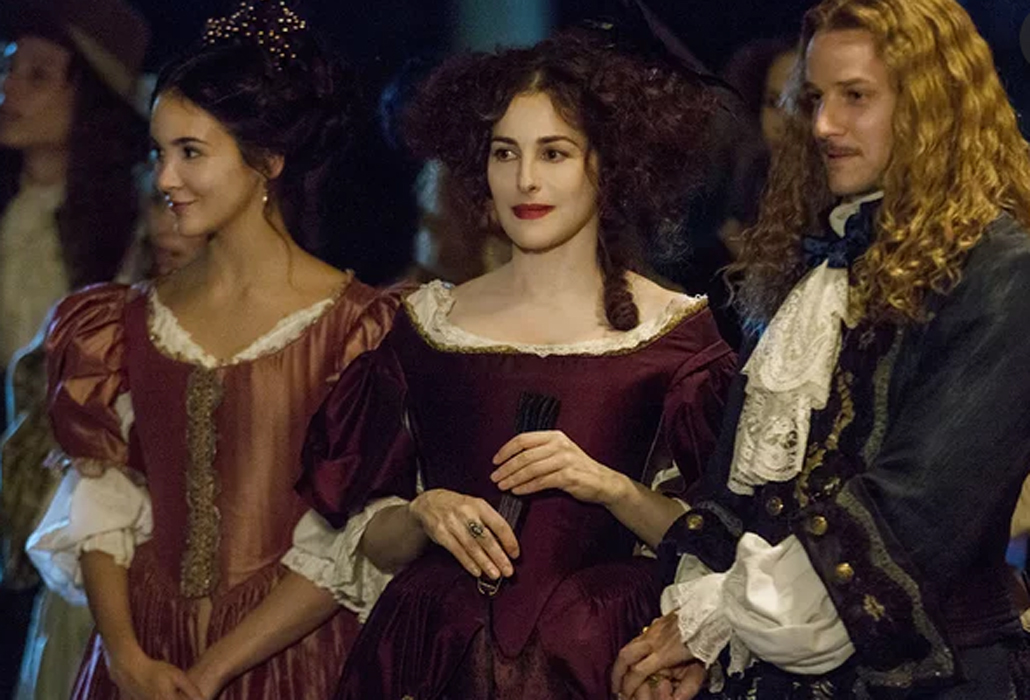 Sophie, Beatrice and Chevalier Versailles