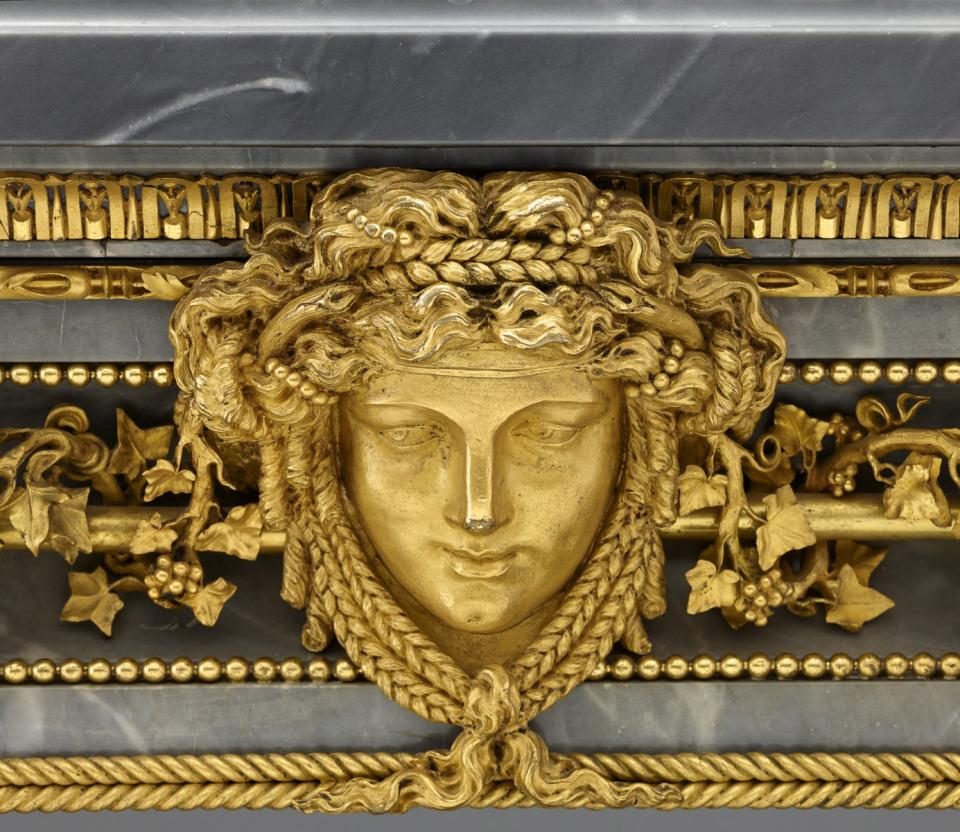 Gilding by Pierre Gouthiere Frick