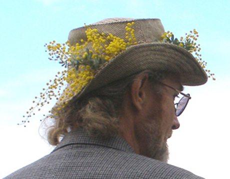 Wattle on Hat Edwin Ride