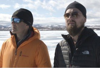 Leonardo DiCaprio and Dr Enric Sala National Geographic Explorer in Residence at the Arctic