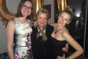 Belinda McDowall, Deputy Editor, Carolyn McDowall, Editor in Chief, and Jo Bayley, Fashion Editor