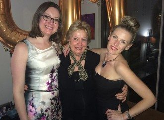 Belinda McDowall, Deputy Editor, Carolyn McDowall, Editor in Chief, and Jo Bayley, Fashion Editor