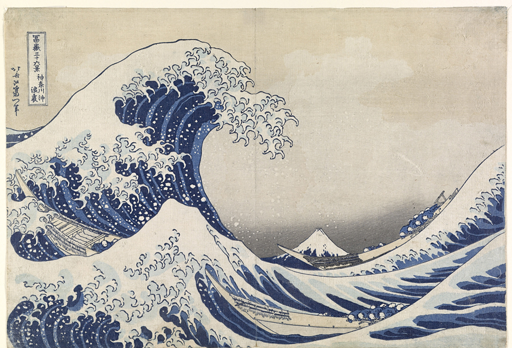 fe6af7f7dcb76 Hokusai – The Great Wave at the NGV, Discover True Beauty | The ...