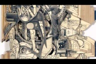 Book Sculptures – Ex Libris, Turning Over New Leaves Part 1