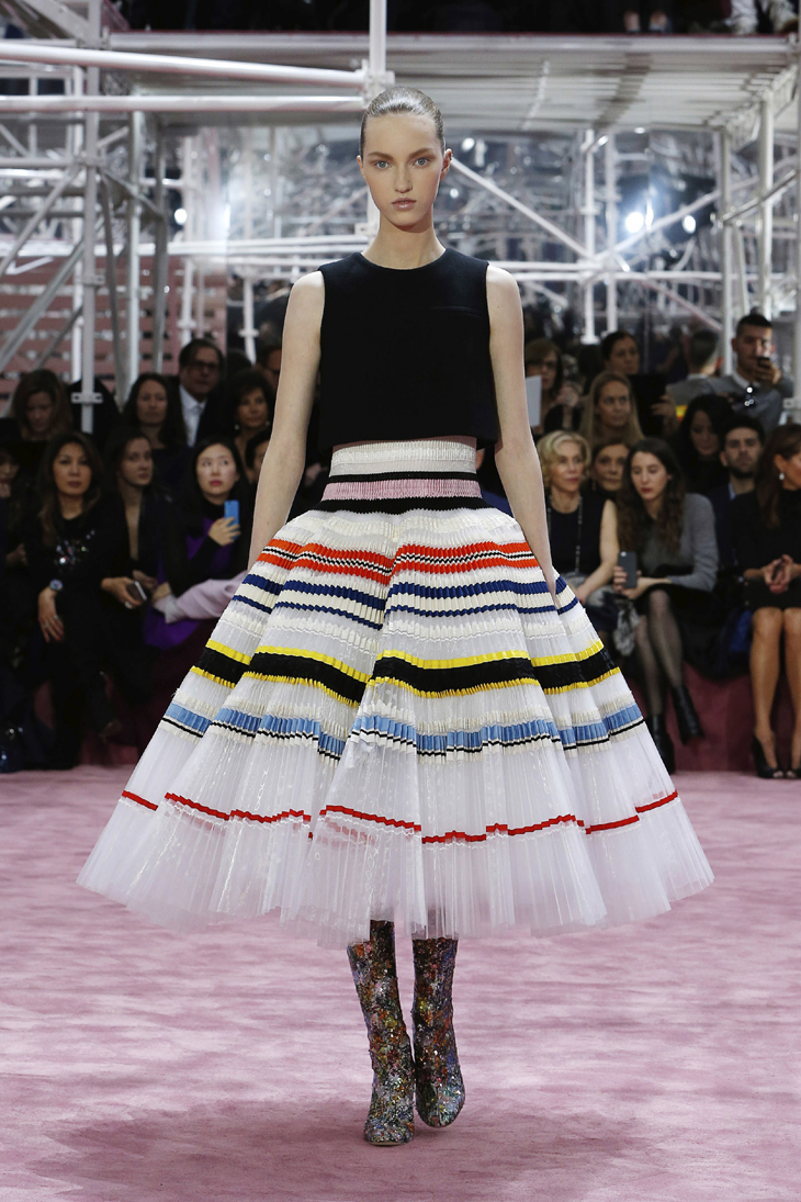 Christian Dior, Paris (fashion house); Raf Simons (designer) Look 54, dress 2015, spring?summer 2015 spring-summer 2015 haute couture collection © Dior
