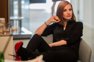 "Jessica Chastain stars in EuropaCorp's ""Miss. Sloane"". Photo Kerry Hayes"