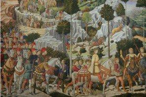 Detail Gozzoli Medici Procession
