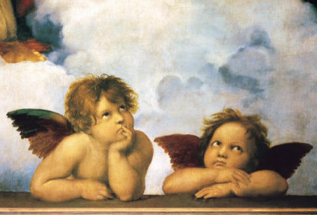Raphael: The most famous cupids or cherubs in the history of art